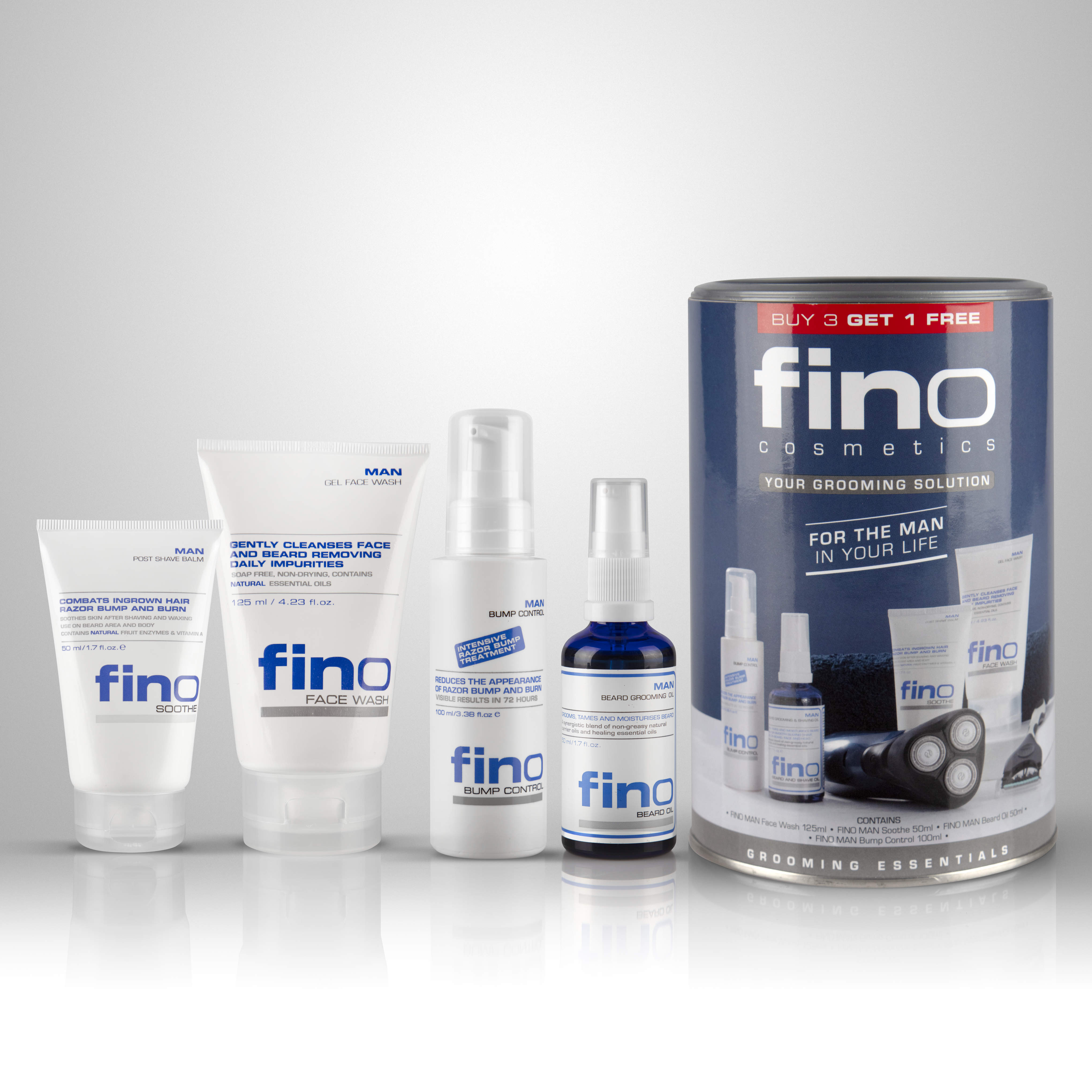 FINO MAN Essential Grooming Pack