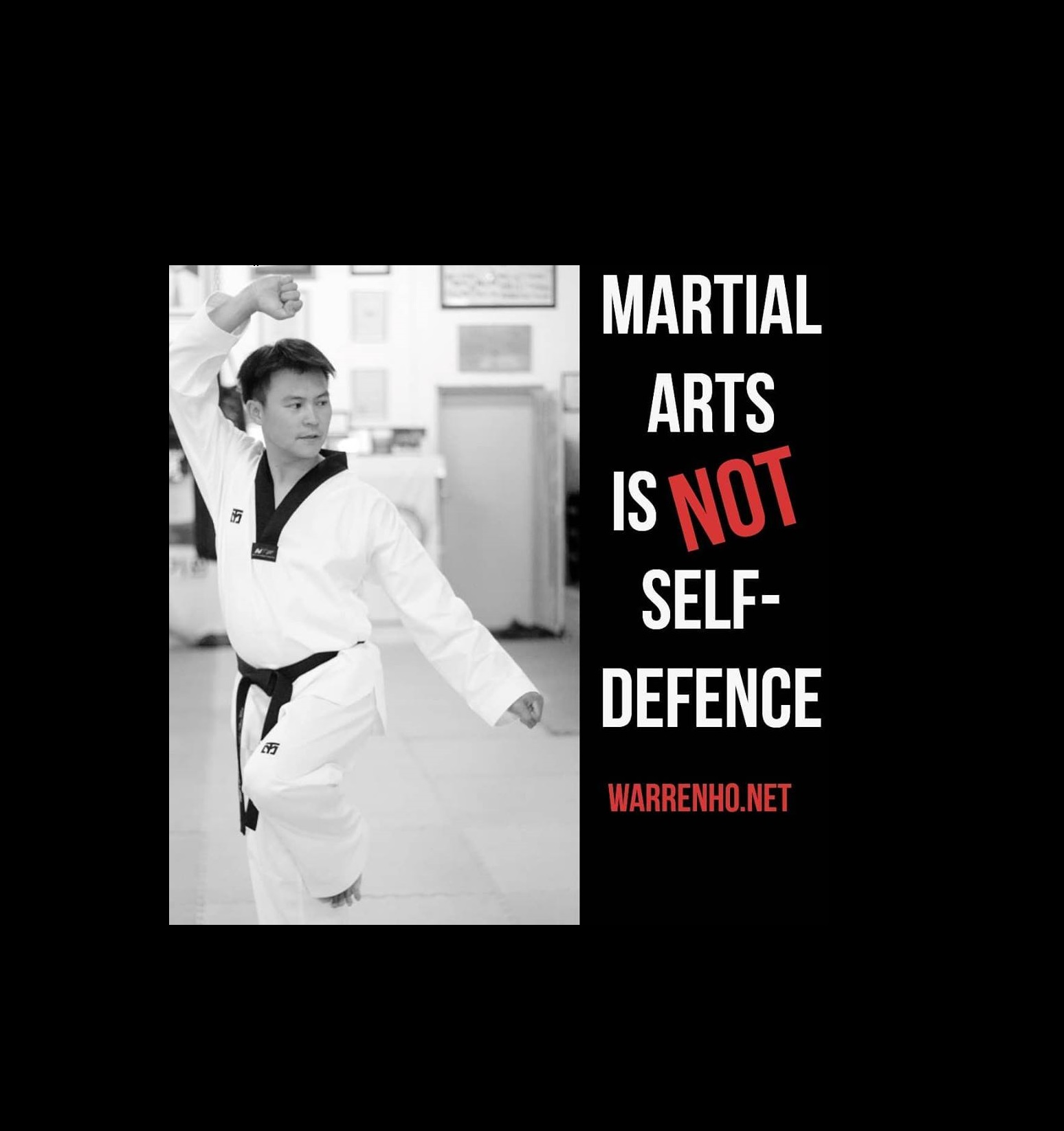 Martial arts is NOT self-defence!