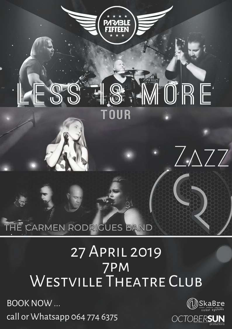 zazz, zaz, zazz music, country music, country girl, country tour, south african singer, artist, new artist, country singer,  female artist, south africa, music, south african band,  top music, top artist, less is more tour, westville theatre club, westville, theatre