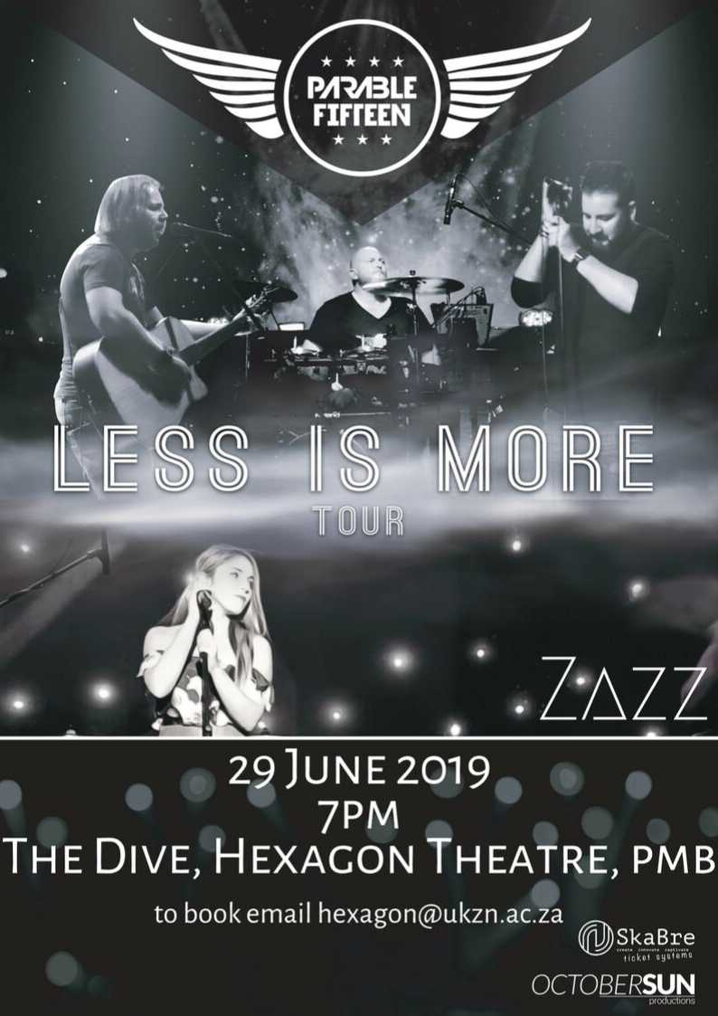 zazz, zaz, zazz music, country music, country girl, country tour, south african singer, artist, new artist, country singer,  female artist, south africa, music, south african band,  top music, top artist, less is more tour, october sun productions, the dive, pietermaritzburg, hexagon theatre, ukzn
