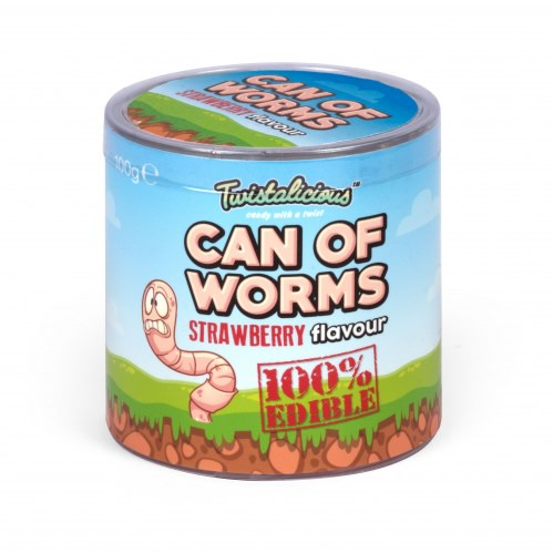 Can Of Worms (Strawberry Flavour)