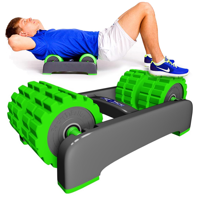 Back Baller - Foam Roller & Muscle Stretcher