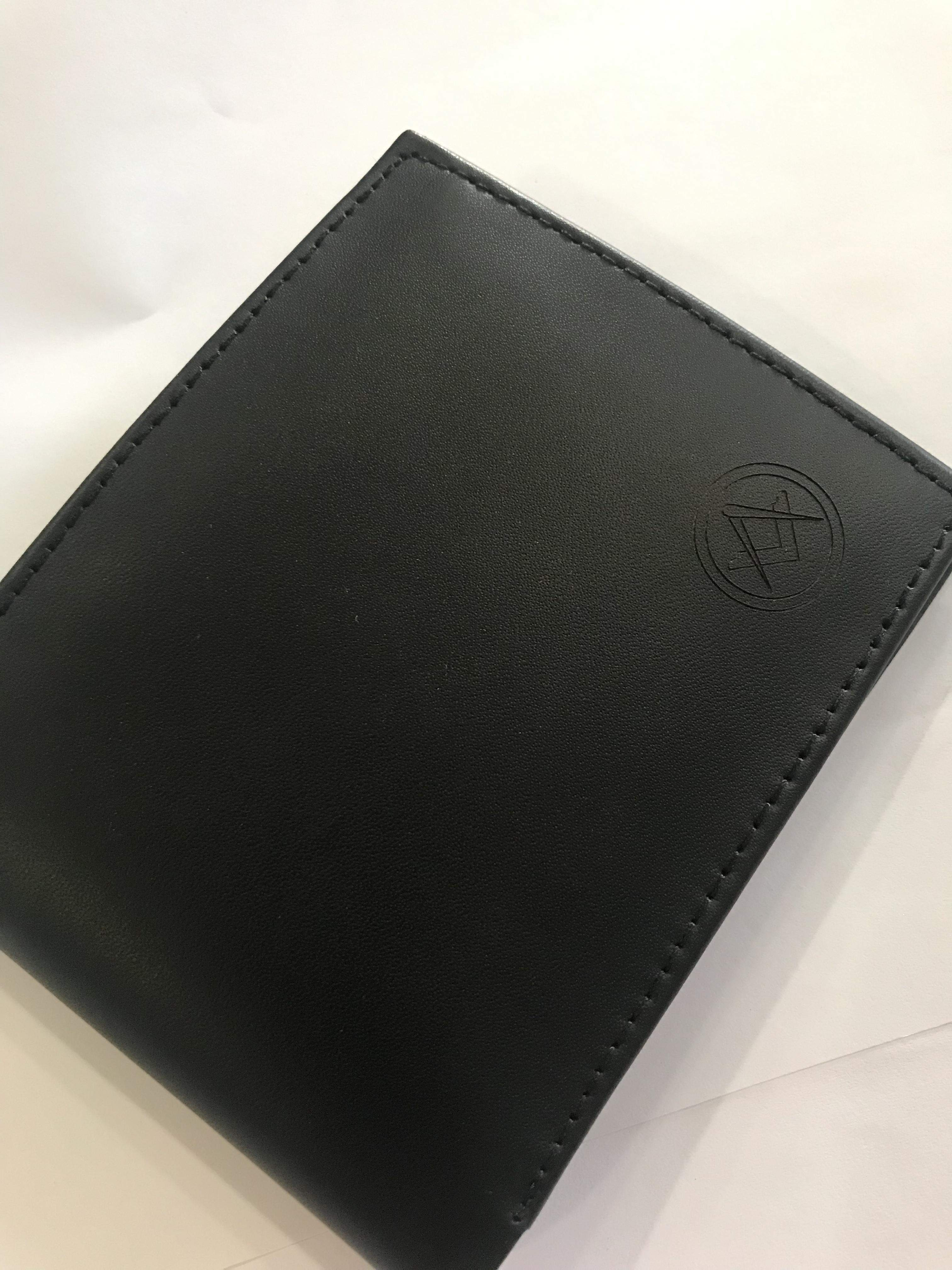 Masonic Leather Wallet R400