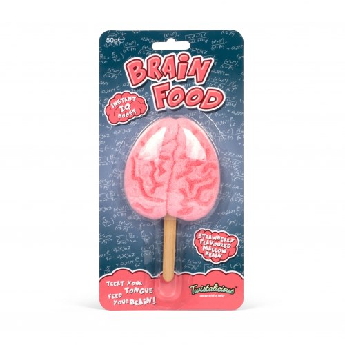 Brain Food Lolly (Strawberry/Marshmallow)