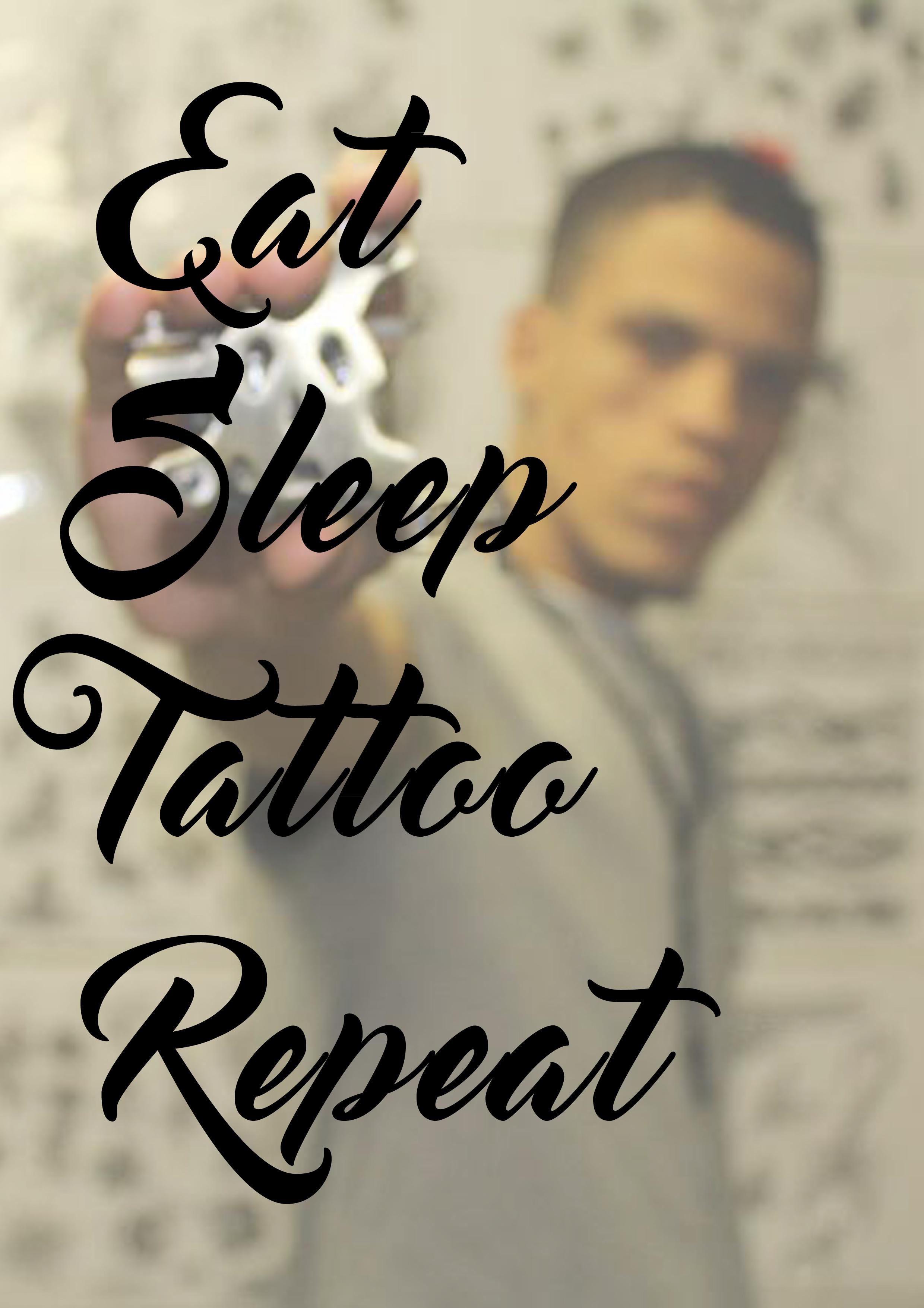eat sleep race tattoo - photo #34