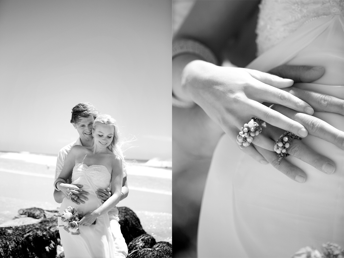 Lea and Jan's Beach Wedding