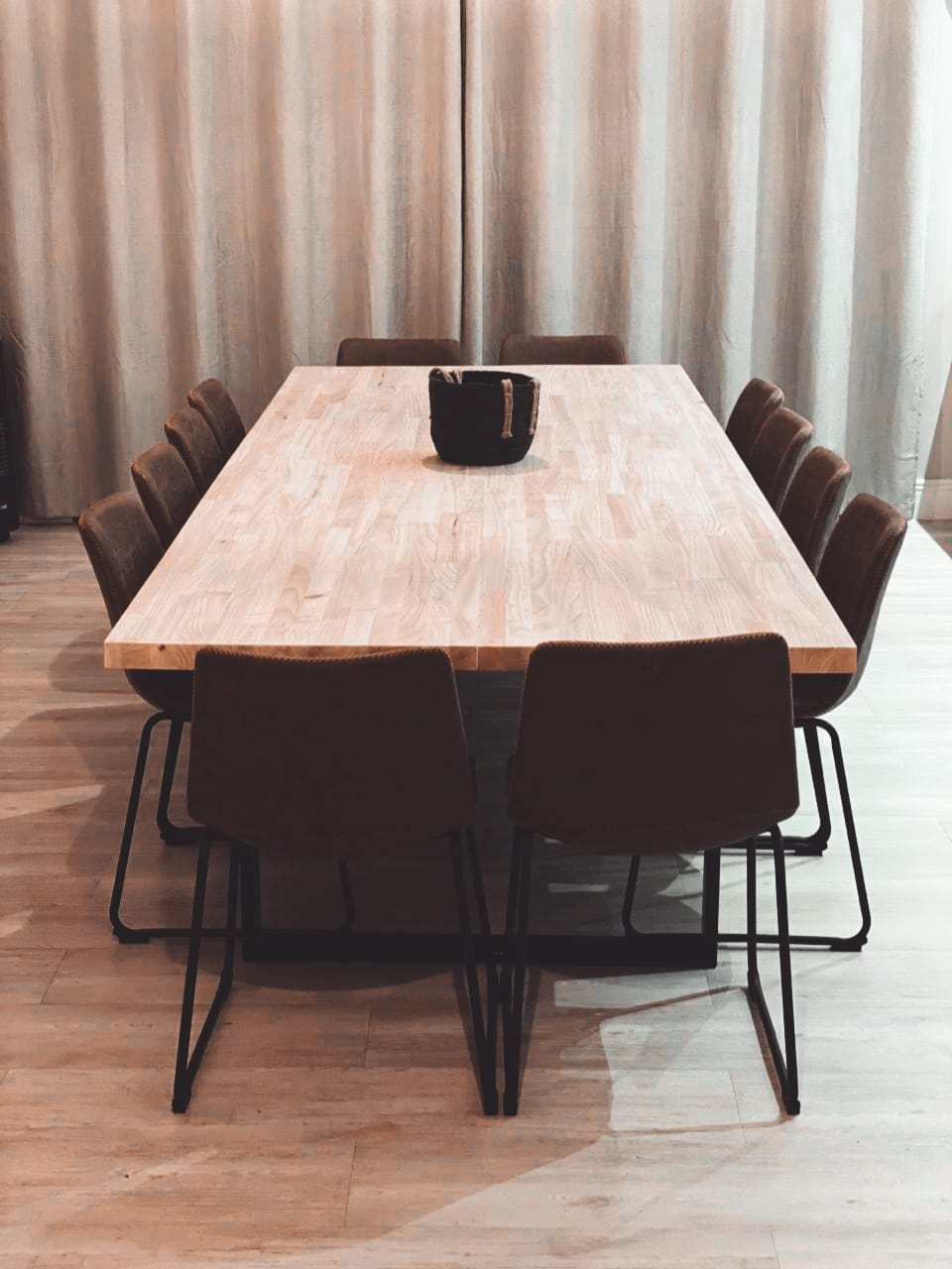 (Black Friday) Rubberwood Dining Table