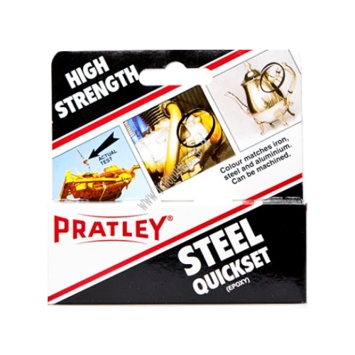PRATLEY QUICKSET STEEL EPOXY GLUE