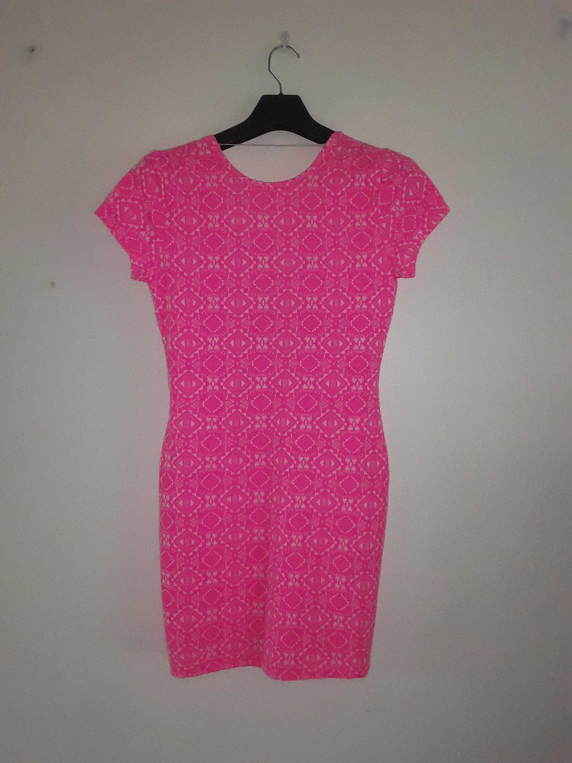Pink Tribal Print Dress