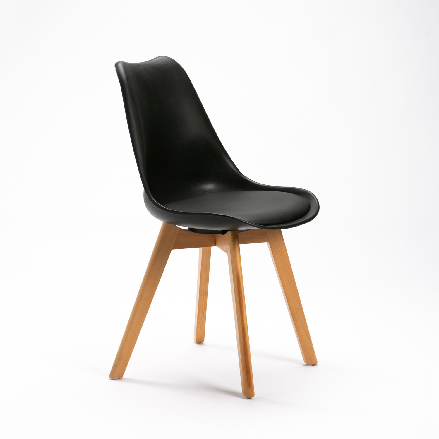 Black Tail Dining Chair