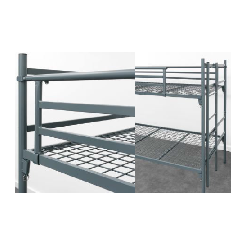 DOUBLE BUNK AND SINGLE BED WITH MESH