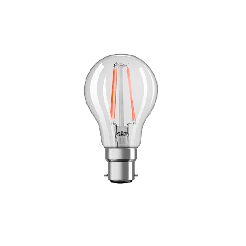 OSRAM WARM WHITE DIMMABLE FILAMENT LED 7.5W B22 PFMCLA BOX OF 10