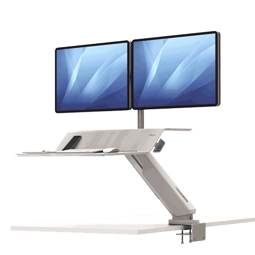 Lotus™ RT Dual Sit-Stand Workstation - Black