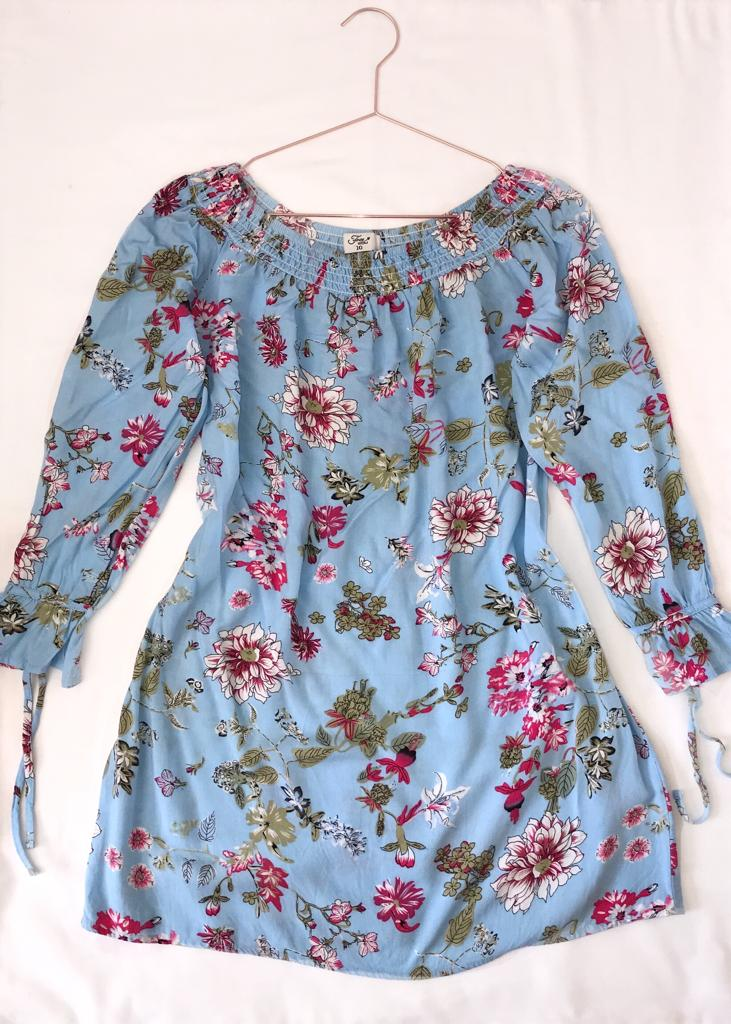 Edgars Blue Floral Dress