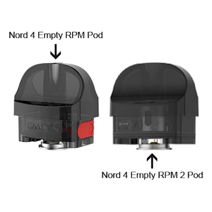 Smok NORD 4 Replacement Pods (No coils)