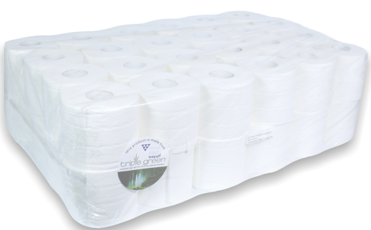 1000 sheet 1 ply toilet paper