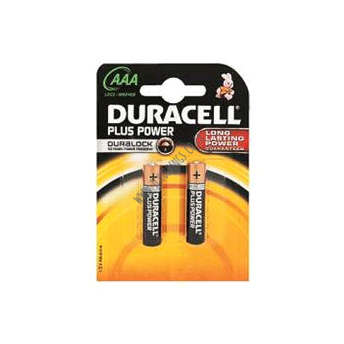 DURACELL PLUS POWER AAA BATTERY AAA 2 PACK 10  PER BOX