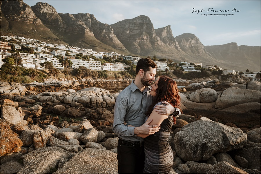 Meet Jean & Melissa {A Surprise Couples Session, A 1 Year Anniversary & A Beautiful Sunset}
