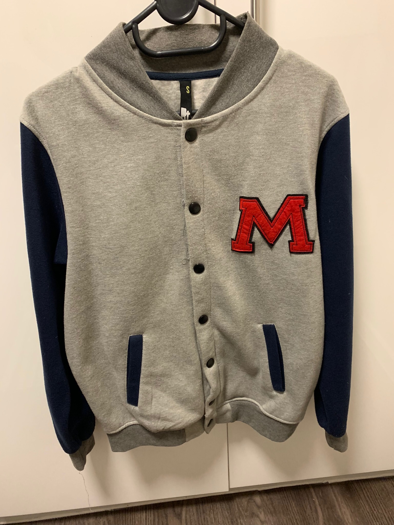 RT varsity baseball jacket