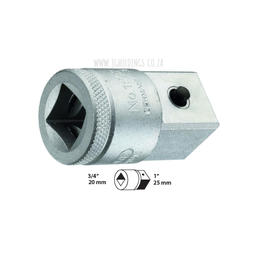 "GEDORE 3/4"" FEMALE TO 1"" MALE DRIVE CONVERTER (REDUCER) 3221"
