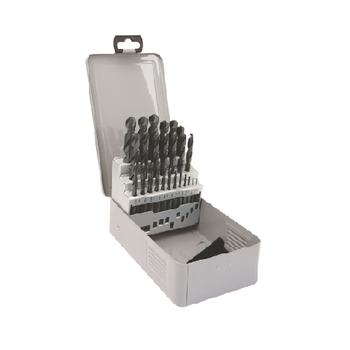SOMTA STRAIGHT SHANK JOBBER DRILL BITS SETS - HSS 7 PIECE