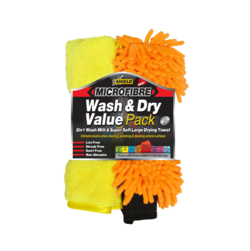 SHIELD WASH & DRY VALUE PACK SH390