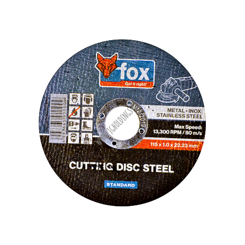 FOX ABRASIVE STANDARD STEEL CUTTING WHEEL / DISC