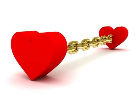 21426353-two-hearts-linked-by-long-golden-chain-concept-3d-illustration- - Copyjpg
