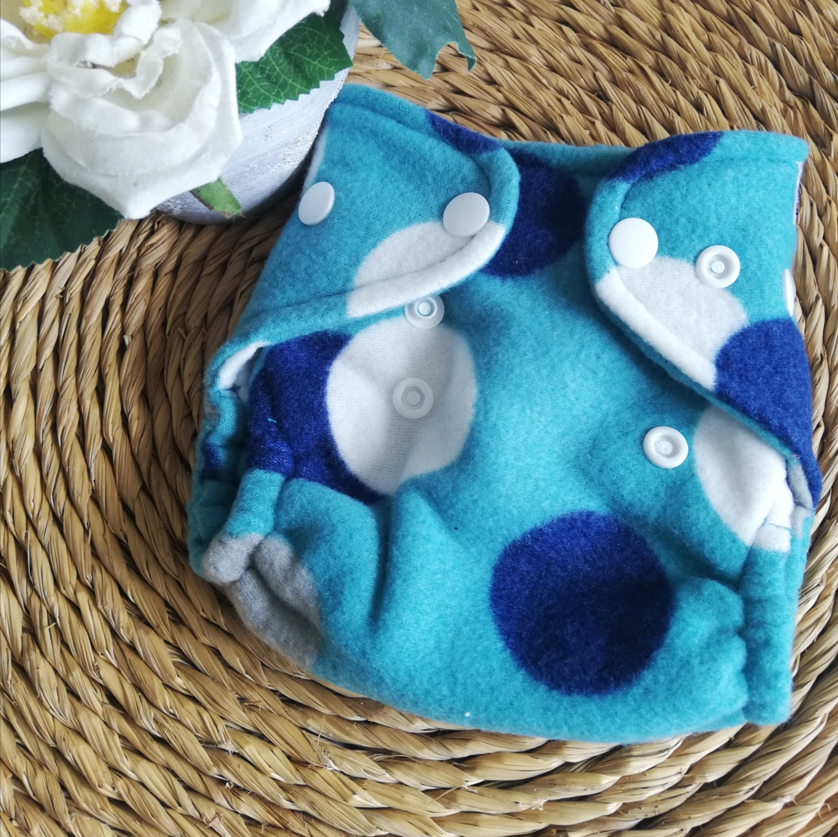 Newborn Printed Fleece Covers