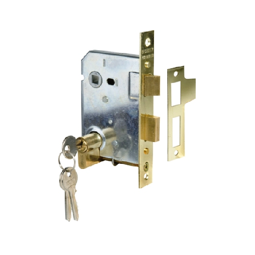 MACKIE CYLINDER MORTICE LOCK INSERT ONLY WITH CYLINDER