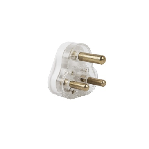 EUROMATE SOLID BRASS PIN PLUG TOP 16AMP