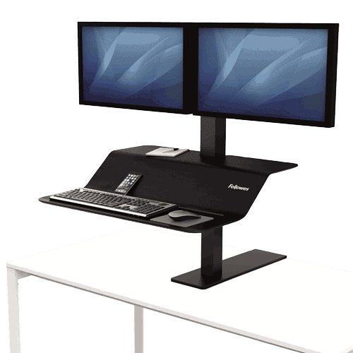 Lotus™ VE Sit-Stand Workstation – Dual