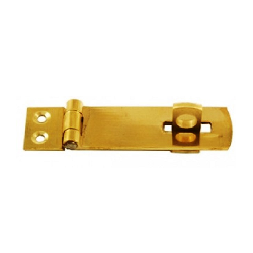 MTS BRASS PLATED HASP AND STAPLE