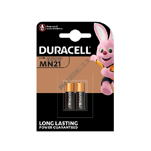 DURACELL PLUS POWER MN21 12V BATTERY 2 PACK 10 PER BOX