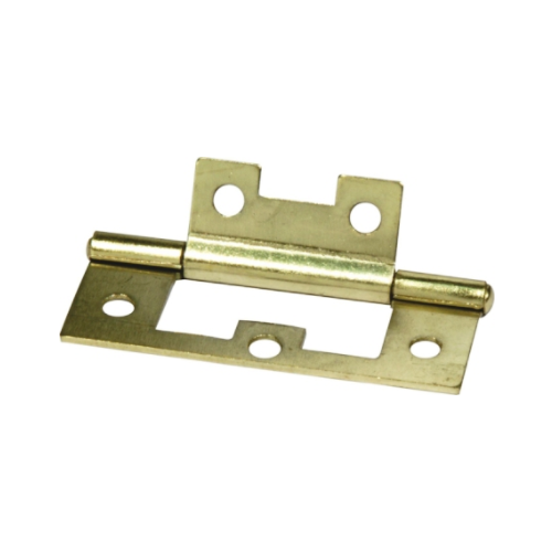 MACKIE BRASS PLATED FLUSH HINGES
