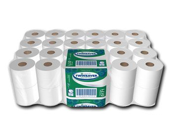 Twinsaver 0124 2 ply toilet paper