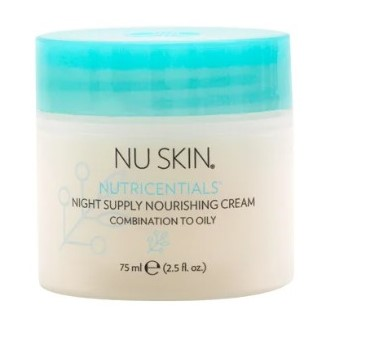 Nu Skin Nutricentials Night Supply Nourishing Cream - Combination to Oily Skin