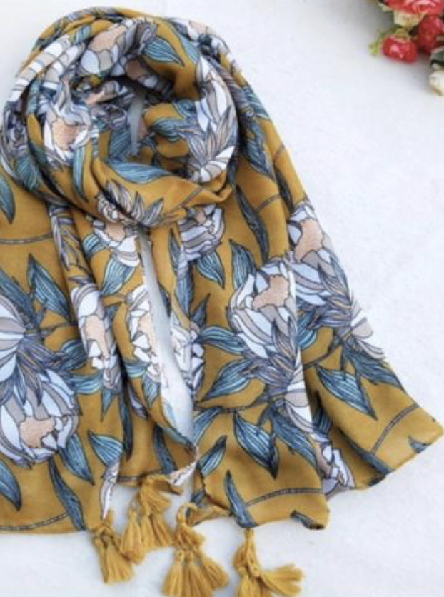 Girl Tribe - Ladies Scarf - Regal Protea M456