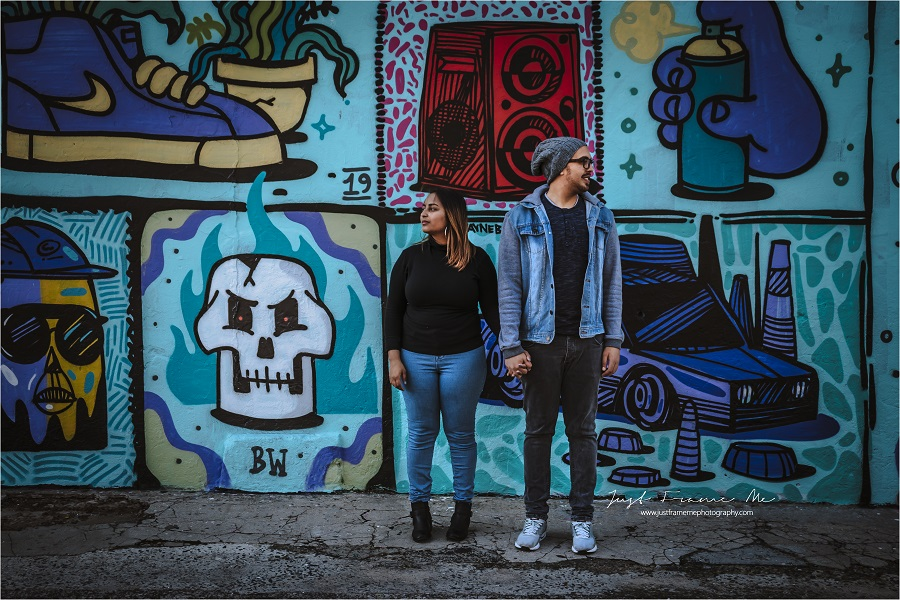 Meet Jade & Dale {A Cup of Coffee, Street Art & A Love Story}