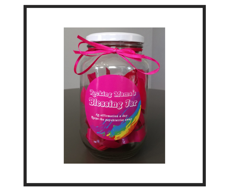 Rocking Mama's Blessing Jar