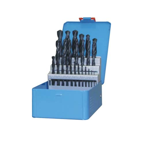 FOX DIY LIGHT INDUSTRIAL HSS STEEL DRILL BITS SET - 25 PIECE