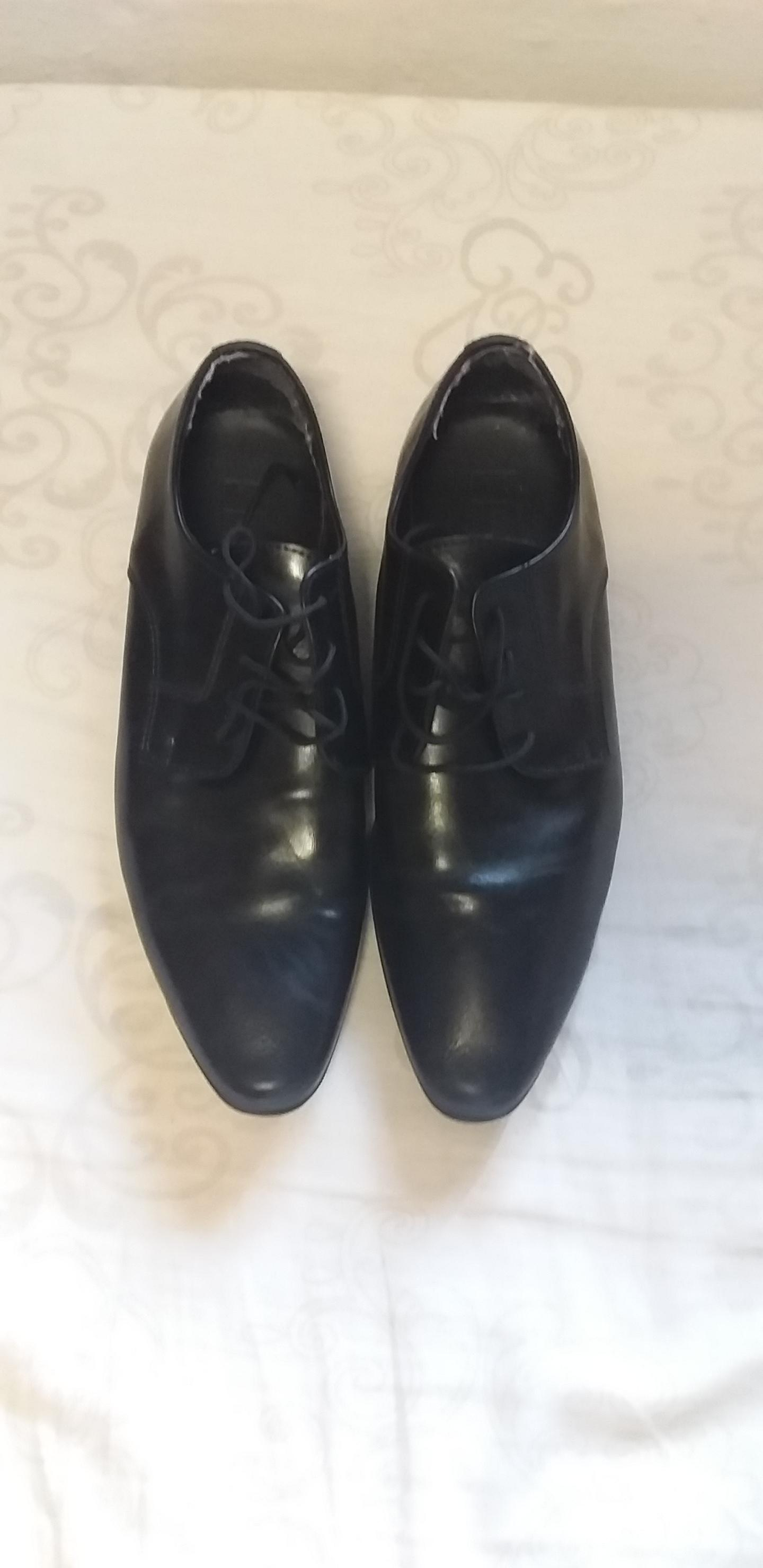 Black formal shoes.
