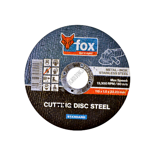 FOX ABRASIVE STEEL CUTTING WHEEL / DISC PROMO 5 PIECE