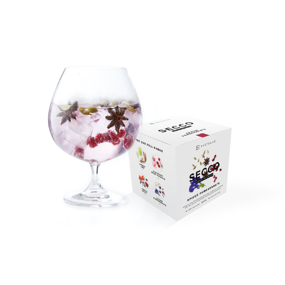 Secco Spiced Pomegranate Box