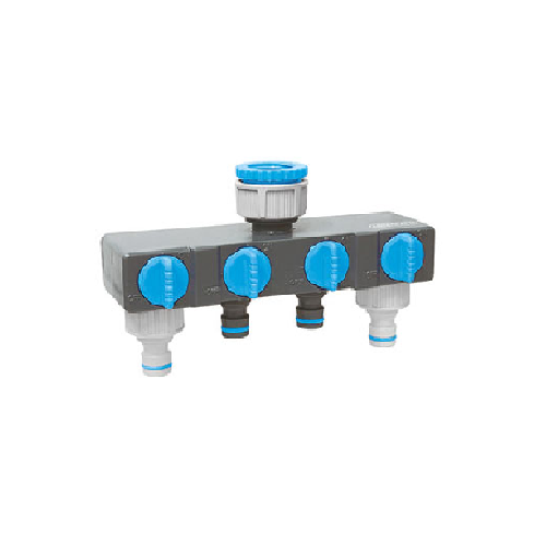 AQUA 4 WAY TAP CONNECTOR - MULTI OUTLET