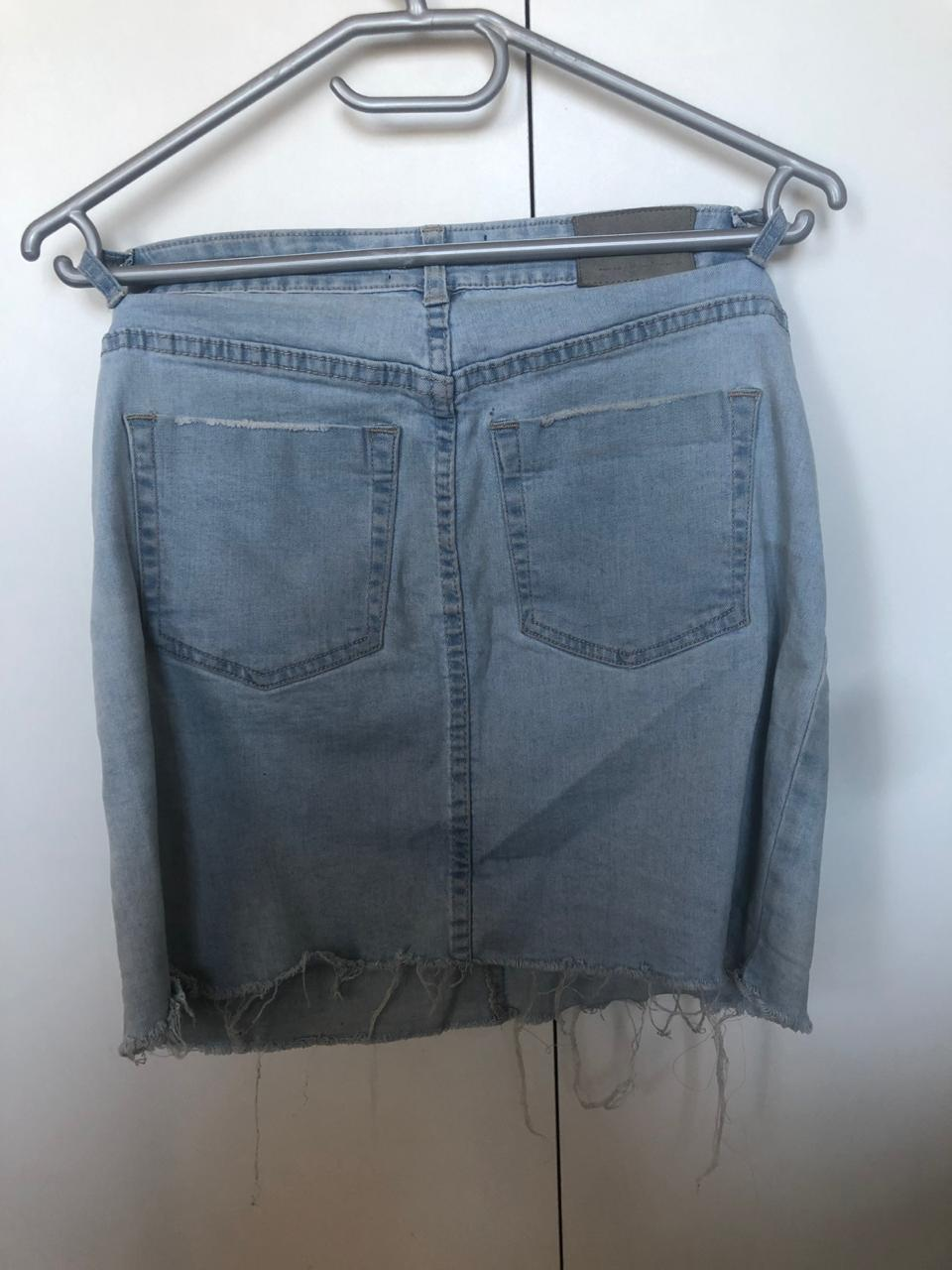 "Denim ""Factorie"" skirt"