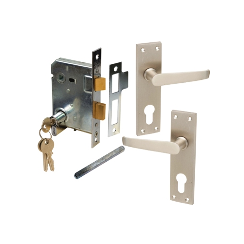 MACKIE CLASSIC SCROLL HANDLE & PREMIUM MORTICE LOCK COMBO SETS