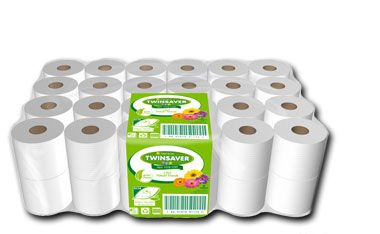 Twinsaver 0174 1 ply toilet paper