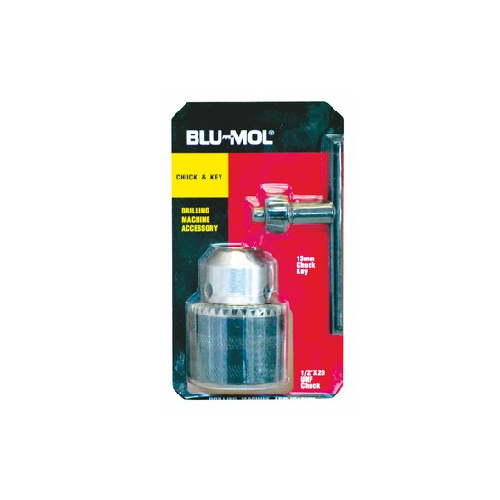 BLU-MOL CHUCK AND KEY SET 1/2``X20 FEMALE 13MM