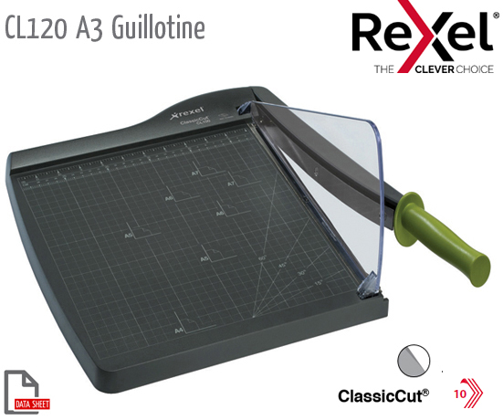 CL120 Guillotine A3 Self Sharp S/Steel Blade